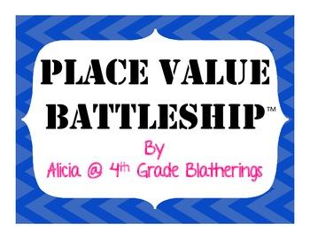 Place Value Battleship