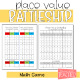 Place Value Battleship Math Game