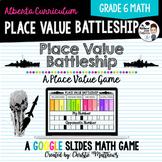 Digital Place Value Battleship for Google