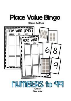 Place Value Game - Bingo