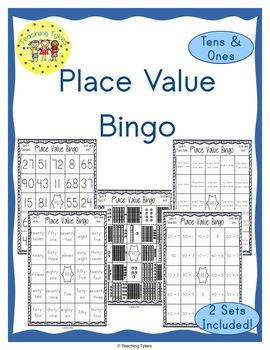 Place Value Bingo Tens and Ones