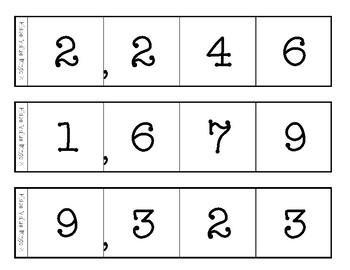 Place Value Bingo - 3 levels