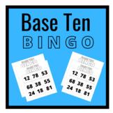Place Value Bingo (Base Ten Blocks Bingo)