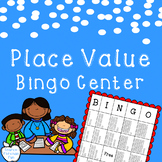 Place Value Bingo Center ~ Base Ten Blocks ~ 1st Grade