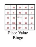Place Value Bingo-Cowboy Style