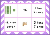 Place Value Bingo Game, Tens and Ones
