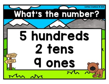 2.NBT.3 - Forms of a Number BINGO Game