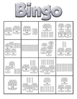 Place Value Bingo Game (set of 24 cards)