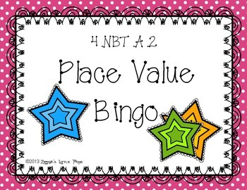 Place Value Bingo {Math Game}