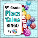 5th Grade Place Value Games {BINGO for 5.NBT.1 and 5.NBT.2}