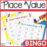 Place Value Game Superhero BINGO