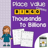 Place Value Games for 5th Grade, Place Value Games 4th Grade Activity, Bingo