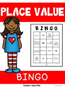 Place Value Bingo - Up to 100s Place