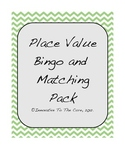 Place Value Bingo and Matching Games Pack