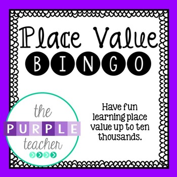 Place Value Bingo (up to ten-thousand)