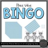 Place Value Bingo using Base Ten Blocks
