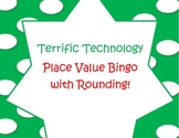 Place Value Bingo with Rounding Worksheets