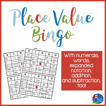 Place Value Bingo with a Twist!