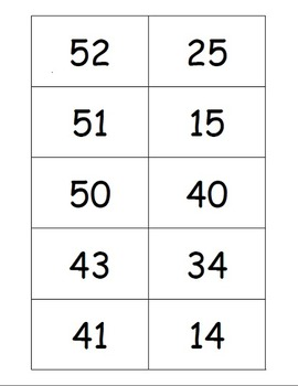 Place Value Bingos