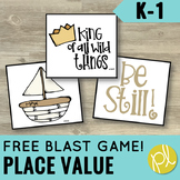 Place Value FREE Math Blast Game