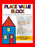 Place Value Block {a place value craft}