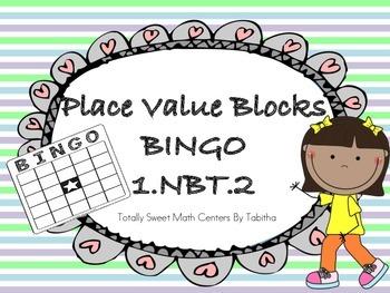 Place Value Blocks BINGO 1.NBT.2