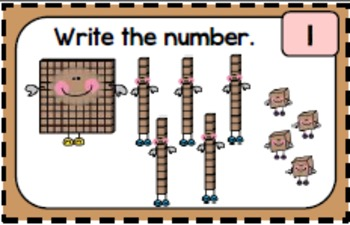 Place Value Blocks to the Hundred's Place Task Cards