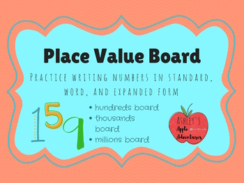Place Value Board