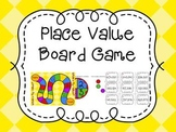 Place Value Board Game- Hundred Thousands