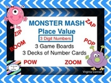 Place Value Board Game---Monster Mash