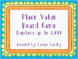 Place Value Board Game {Standard Form, Expanded Form, Base