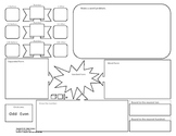 Place Value Board - Graphic Organizers 3 Options