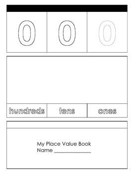 Place Value Flipbook