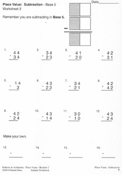 Place Value:  Booklet 2 - Rounding Off and Estimating - Student Workbook