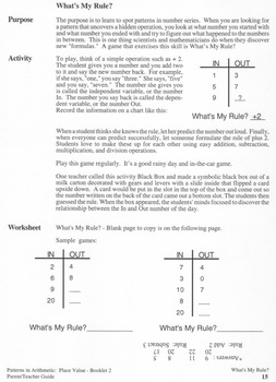 Place Value:  Booklet 2 - Rounding Off and Estimating - Teacher Guide