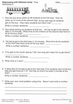 Place Value:  Booklet 3 - Into the Millions, Exponential Notation Student