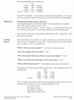 Place Value:  Booklet 3 - Into the Millions, Exponential Notation Teacher