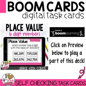 Place Value Boom Cards