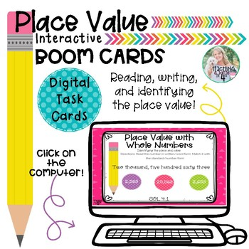 Place Value Boom Cards (Digital Task Cards)