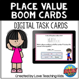 Place Value Boom Cards Digital Task Cards for Distance Learning