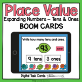 Place Value Boom Cards - Expanding Numbers Tens and Ones