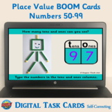 Place Value Boom Cards (Numbers 50-99) – Digital Task Card