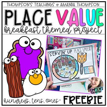 Place Value Breakfast FREEBIE