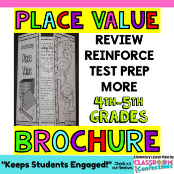 Place Value Activity: Brochure