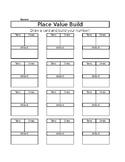 Place Value Build