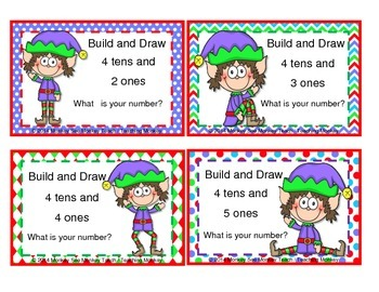 Place Value Build  Elf/ Theme 2  Elfkins  Tens and Ones