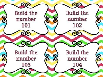 Place Value Build It- Numbers 10-120