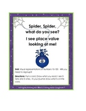 Place Value Build (Ten -One Hundred Twenty) Halloween /Spider Theme