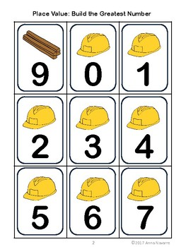 Place Value: Build the Greatest Number