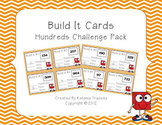 Place Value Building Cards Hundreds Challenge Pack
